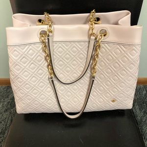 *NWOT Tory Burch Quilted Leather Tote.